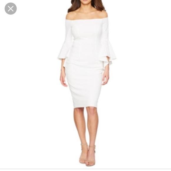c93229e5 Premier Amour Dresses | Off The Shoulder Sheath Dress Sz 16 | Poshmark